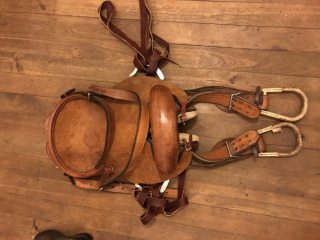 Troy Welsh Rodeo Bronc Saddle