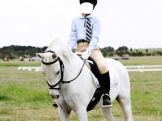 Welsh B Kids Show Pony
