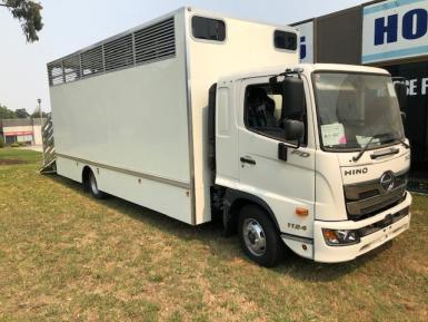 New Hino FD 1124 with 6 Horse Body