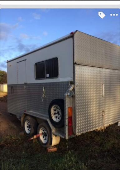 Custom 2hal camper Australian made