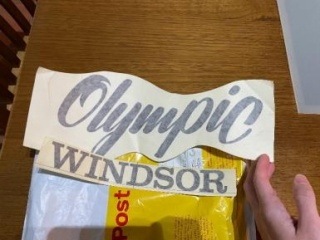Olympic Windsor Float Stickers