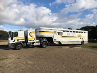 8 Horse Trailer with living